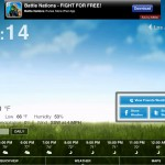 Weather HD 2 Free version 2.0.1 (iPad 2) - Hourly Forecast and Social Media