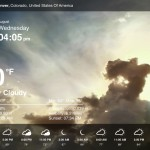 Weather Live version 1.9 (iPad 2) - Text-Only