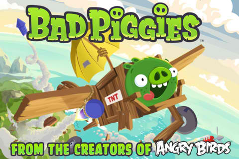 Oink, Oink! You Hear That? Thats The Sound Of Bad Piggies Wreaking Havoc Now In The App Store
