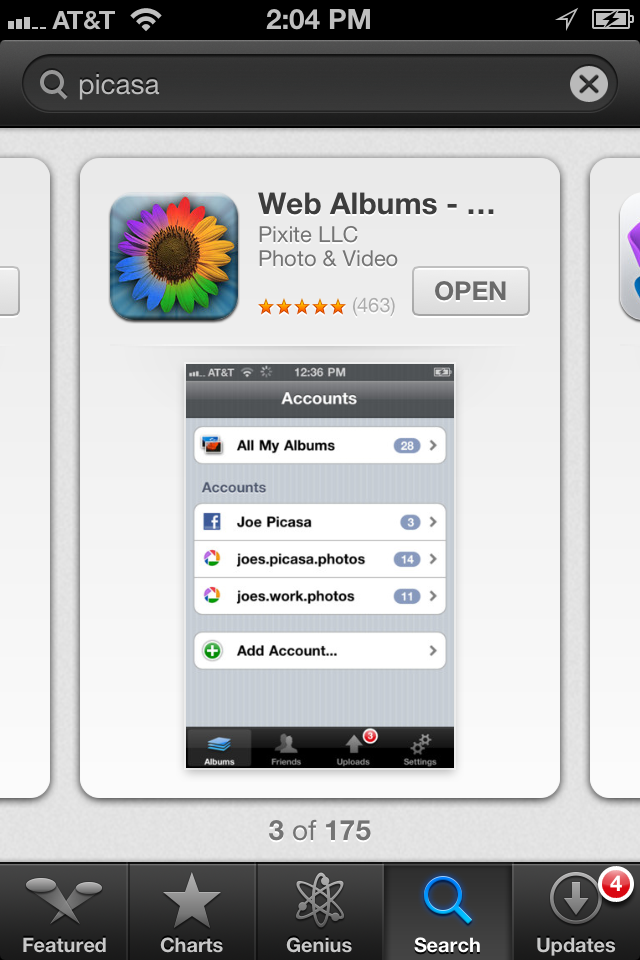 App Store - iOS 6