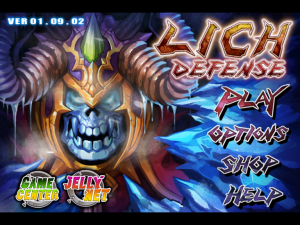 Lich Defense by Jellyoasis Inc. screenshot