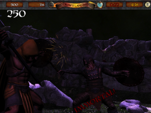 Infinite Warrior by Empty Flask Games LLC screenshot