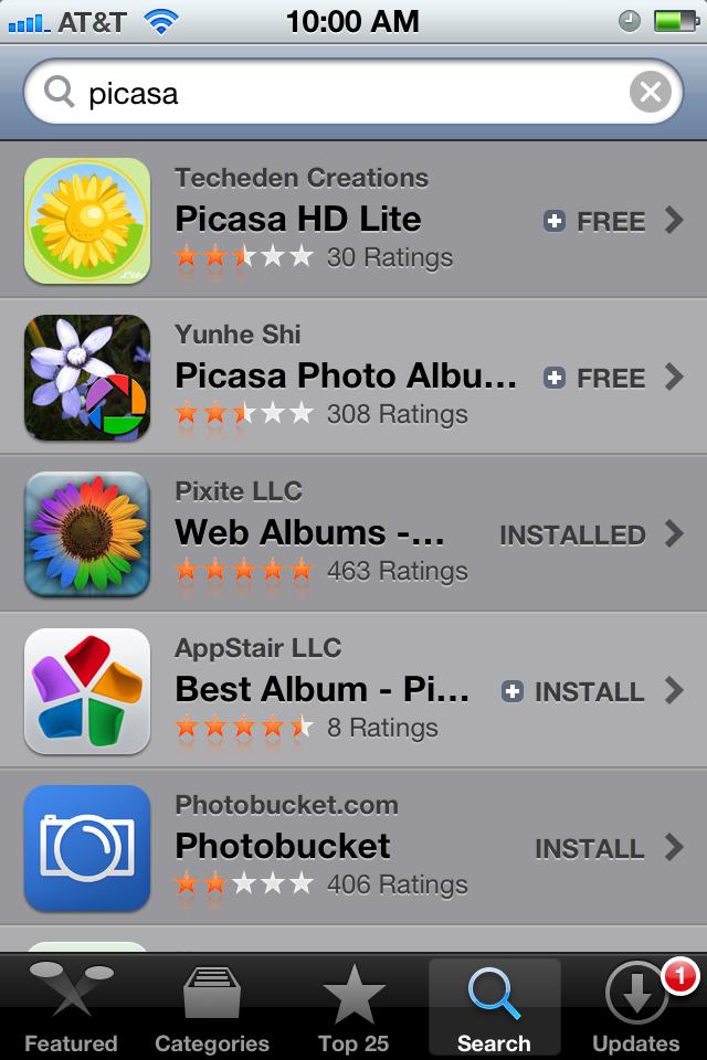 App Store - iOS 5