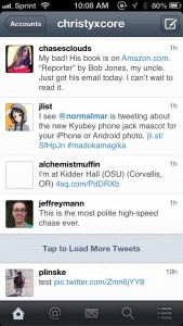 Flurry for Twitter by Ash Apps Inc. screenshot