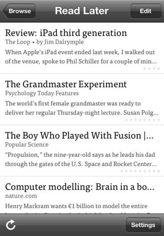 Update Your Favorite Read-Later App Now And Read With Full iOS 6 And iPhone 5 Compatibility Later