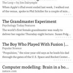 Instapaper for iPhone 1