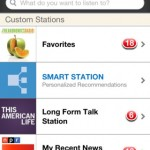 Stitcher Radio for iPhone 2