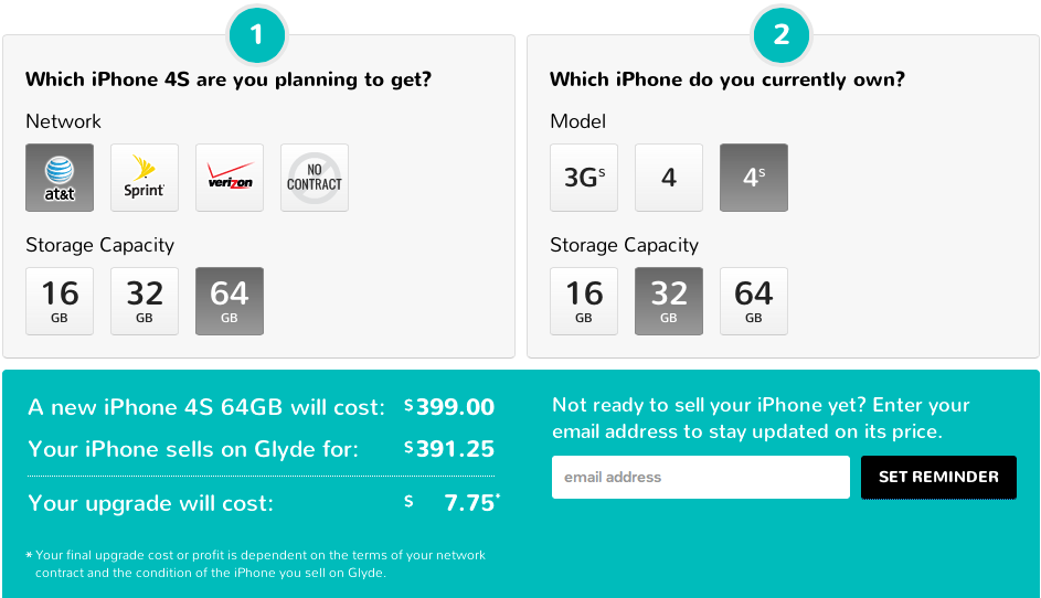 Glyde Upgrade Tool