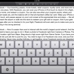 Google Drive version 1.1 (iPad 2) - Editing