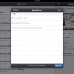 Google Drive version 1.1 (iPad 2) - Move Item