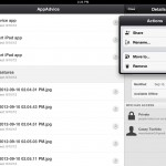 Google Drive version 1.1 (iPad 2) - Extra File Management