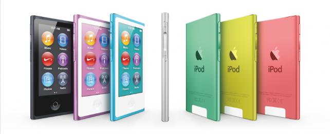 iPod nano 7. generace - Balení neobsahuje plnohodnotná sluchátka EarPods (Video)