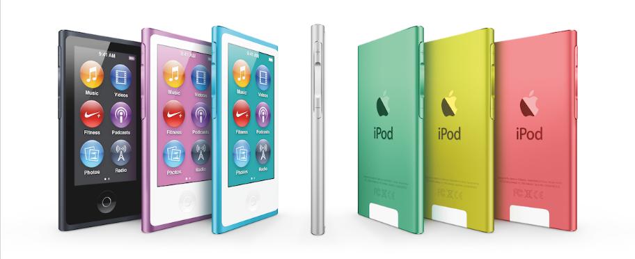 2012 iPod nano