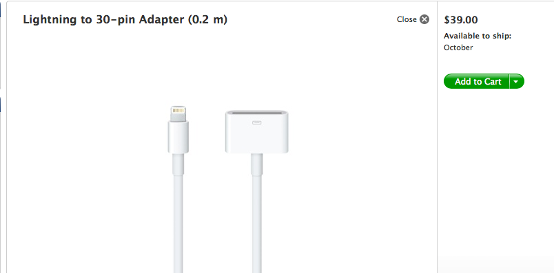 Really, Apple? $39?