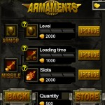 Turret Commander (iPad 2) - Armaments