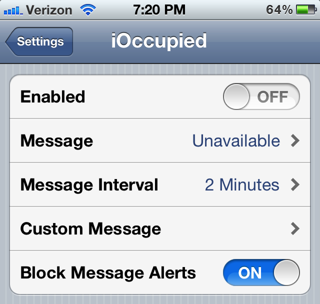 how to stop incoming calls on ipad