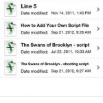 Final Draft Reader for iPhone 1