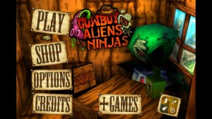 Cowboy vs. Ninjas vs. Aliens by Great Play: Free Games screenshot