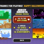 Mikey Shorts Halloween for iPad 5