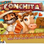 Pepe&#039;s Conchita Fly Fury for iPad 1