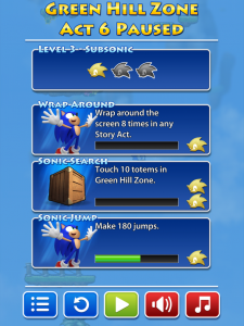 Sonic Jump by SEGA screenshot