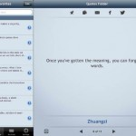 Quotes Folder for iPad 2