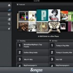 Songza for iPad 3