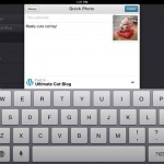 Wordpress for iPad 2