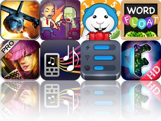 Todays Apps Gone Free: Zombie Gunship, Zombie Building, Bugsy Kindergarten Math And More