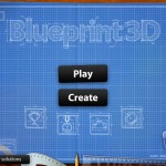 Blueprint 3D HD version 2.0 (iPad 2) - Main Menu