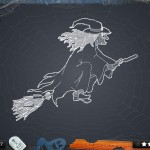 Blueprint 3D HD version 2.0 (iPad 2) - Halloween Level 18 (Witch)