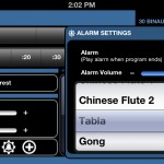 Brain Wave version 5.2 (iPhone 5) - Alarm Settings
