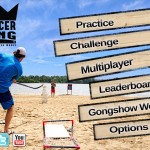 Gongshow Saucer King (iPad 2) - Main Menu