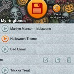 Halloween Ringtones Pro (iPhone 4) - Library