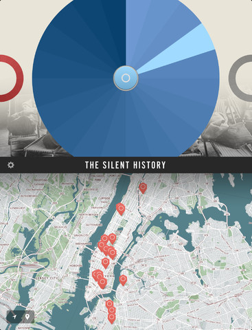 The Silent History