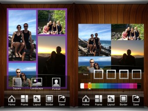 Nostalgio version 1.7 (iPhone 4S) - Layout and Border