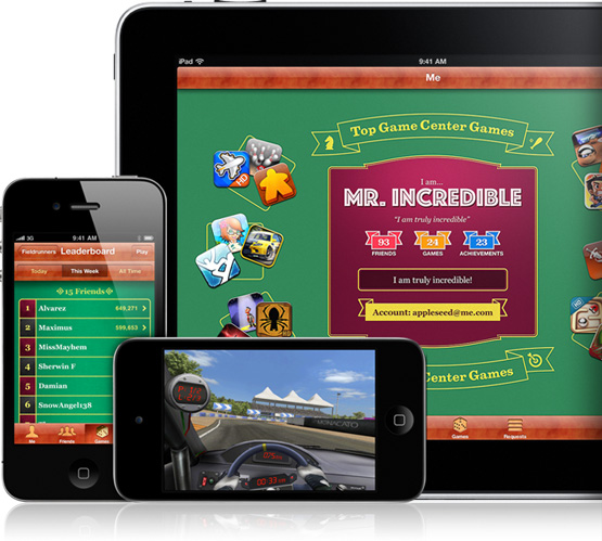 iOS 6 Game Center