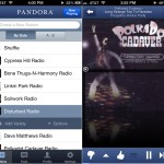 Pandora Radio verison 4.0 (iPhone 5) - Stations and Now Playing