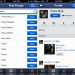 Pandora Radio verison 4.0 (iPhone 5) - Music Feed and Profile