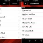 Pimp Your Sound version 1.2 (iPhone 4) - Type and Entertainment Lists