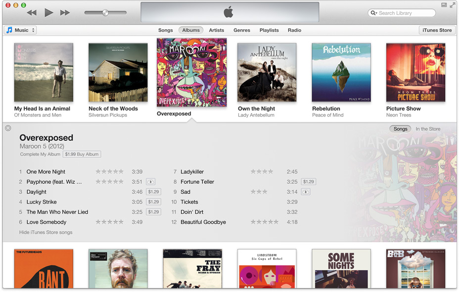iTunes 11