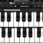 SampleTank version 1.3 (iPad 2) - Grand Piano