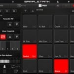 SampleTank version 1.3 (iPad 2) - Sound Pads