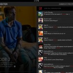 Showtime Sync version 2.1 (iPad 2) - Twitter Feed