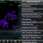 SkySafari version 3.6 (iPhone 5) - Night Sky Network Events