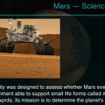 Solar Walk version 2.0.1 (iPhone 5) - Science Missions (Curiosity)