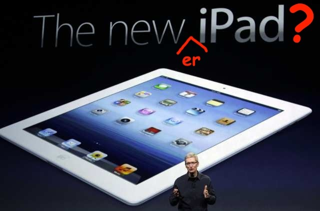The newer iPad?