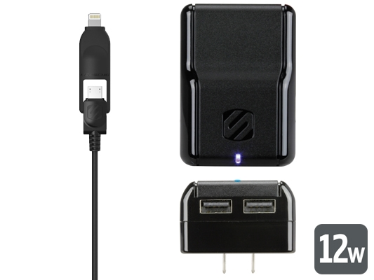 Lightning Charger for iPhone 5, iPad Mini, & iPad Wall Charger