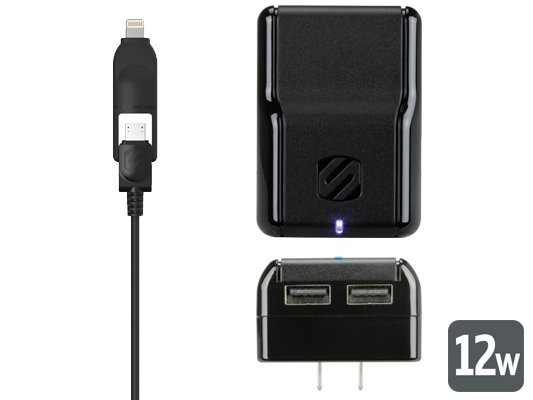 Lightning Charger for iPhone 5, iPad Mini, &amp; iPad Wall Charger