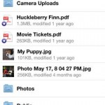 Dropbox for iPhone 1